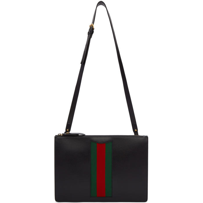 Gucci Black Messenger Bag
