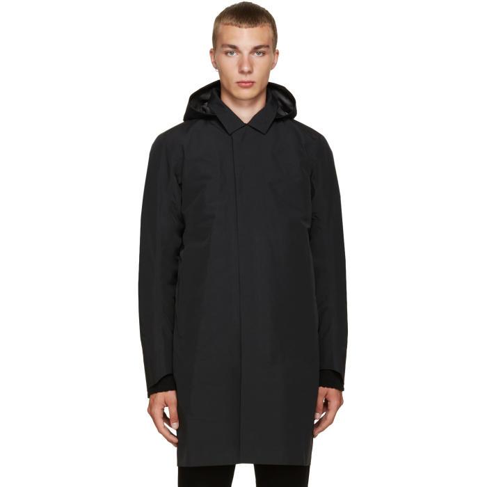 Arcteryx Veilance Black Galvanic IS Coat