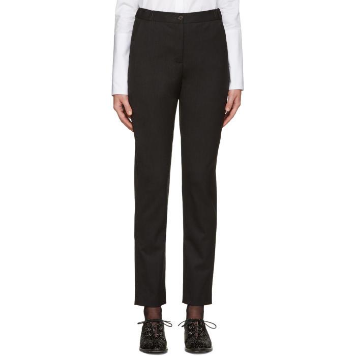 Aalto Grey Wool Trousers