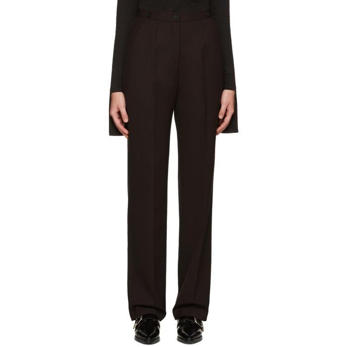 Aalto Burgundy Suspender Trousers