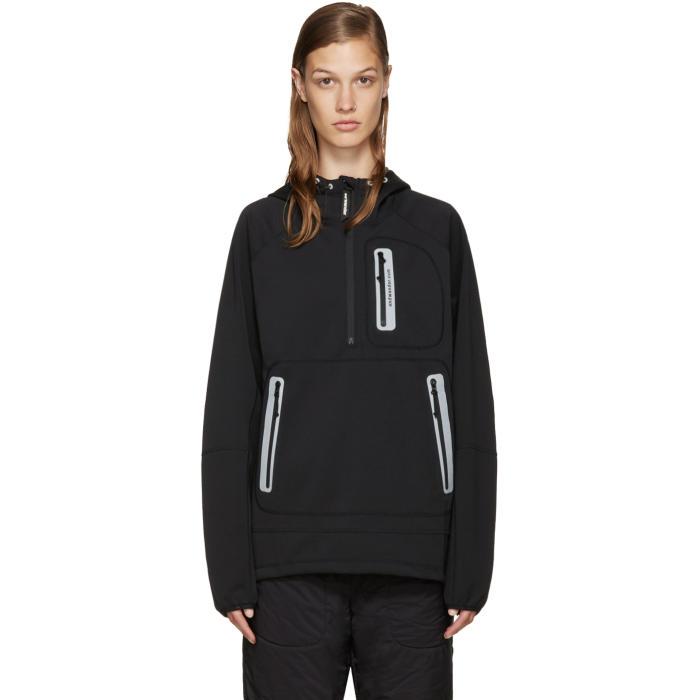 and Wander Black Hooded Windstopper Jacket
