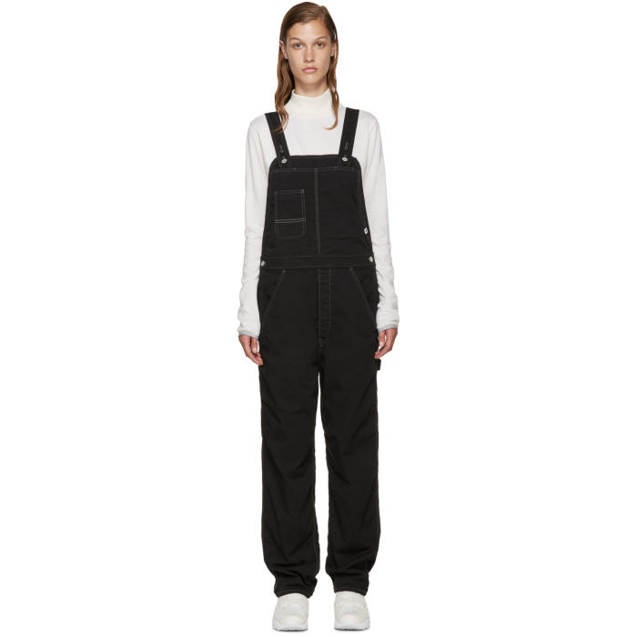 and Wander Black Outlast® Cotton Overalls