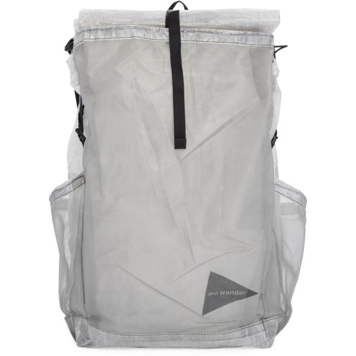 and Wander Clear Cuben Fiber Backpack