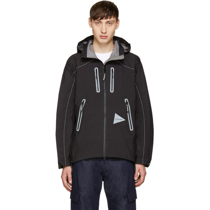 and Wander Black eVent Jacket
