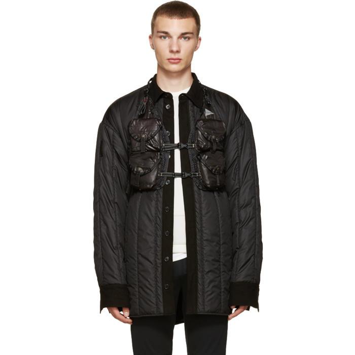 and Wander Black Backpack Vest
