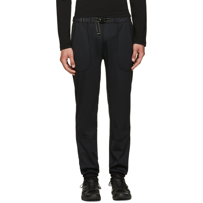 and Wander Black Belted Lounge Pants