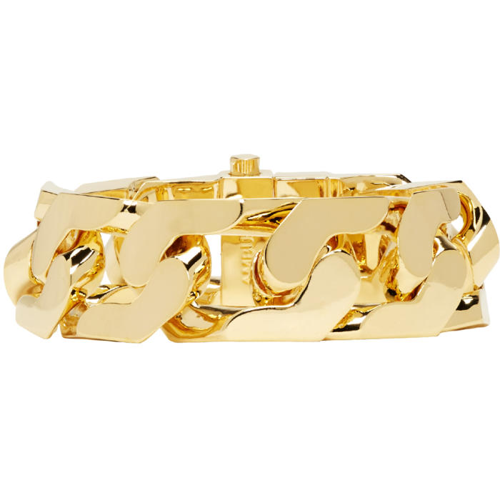 Ambush Gold New Classic Chain 1 Bracelet