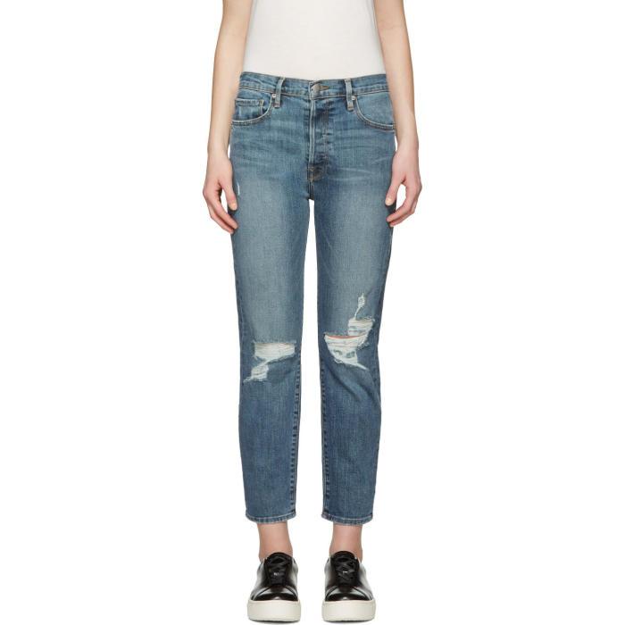 Frame Denim Indigo Le Original Jeans