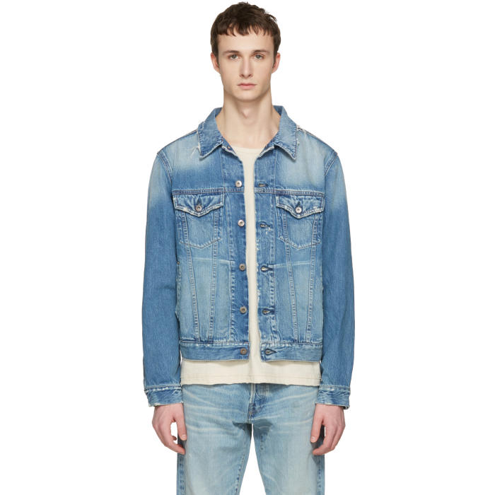 Simon Miller Indigo Denim Sobo Jacket
