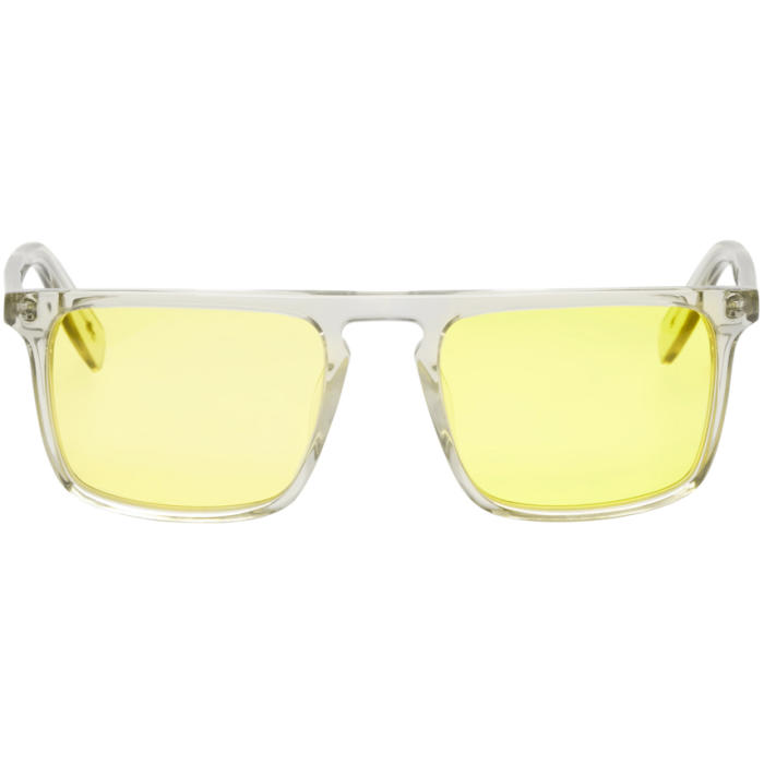 all in Yellow Dunk4 Sunglasses
