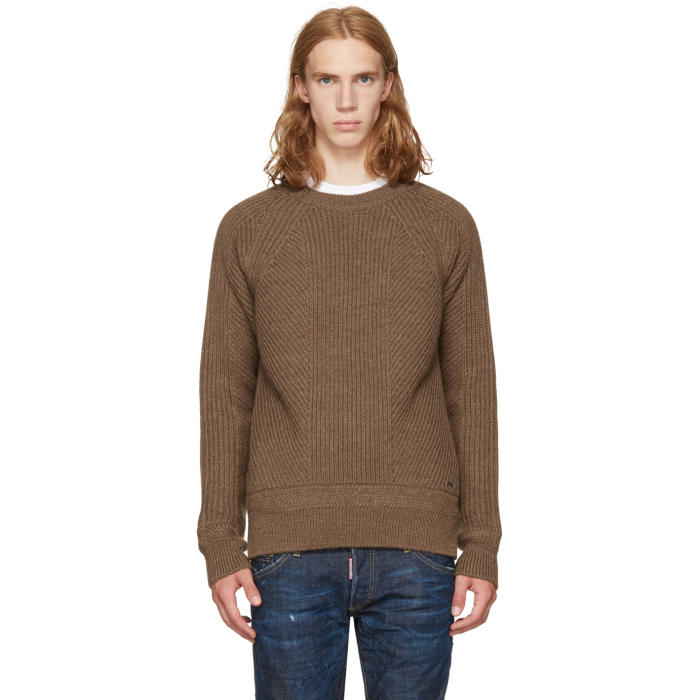 Dsquared2 Brown Amish Sweater