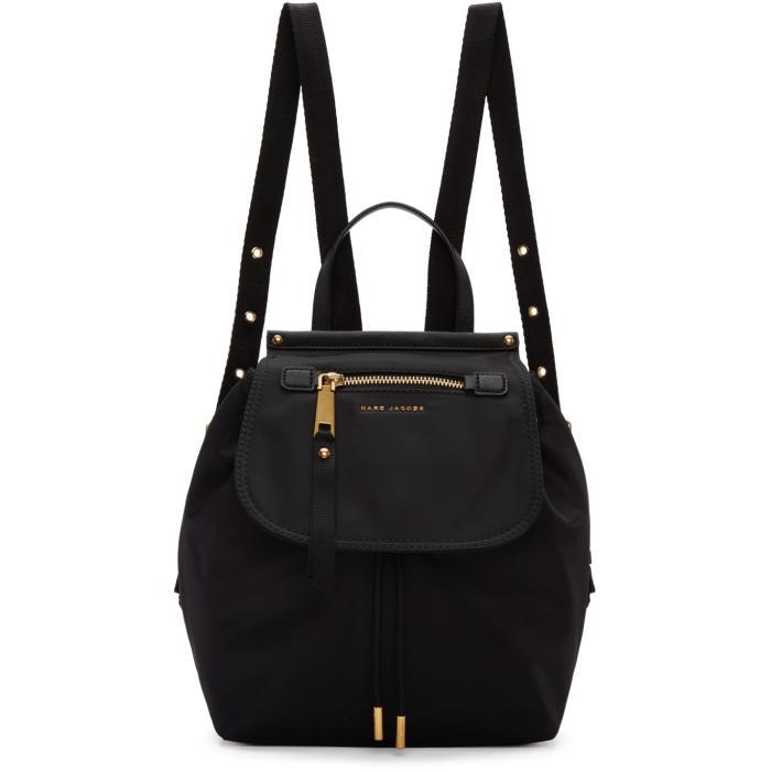 Marc Jacobs Black Trooper Backpack