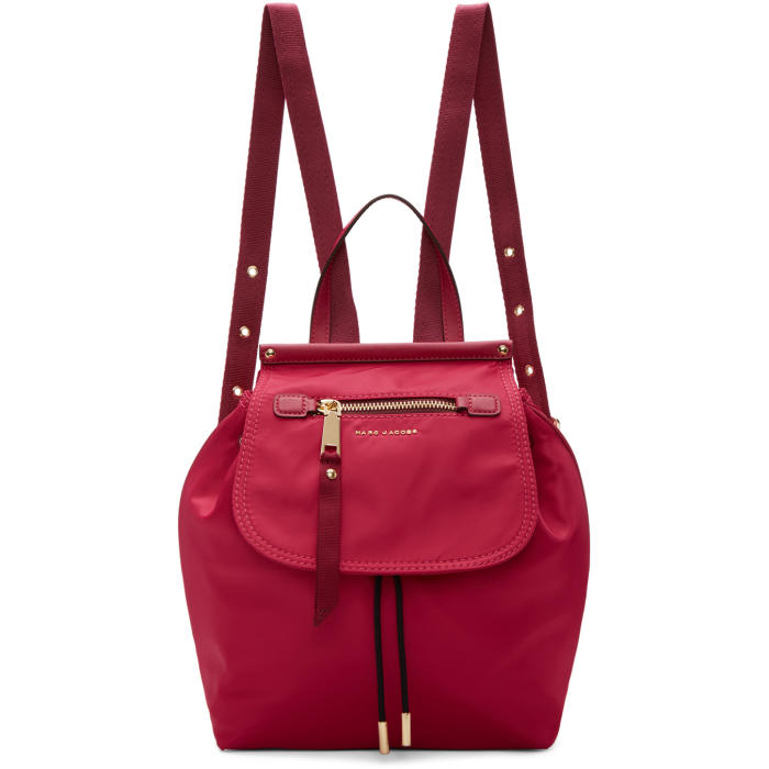 Marc Jacobs Pink Trooper Backpack