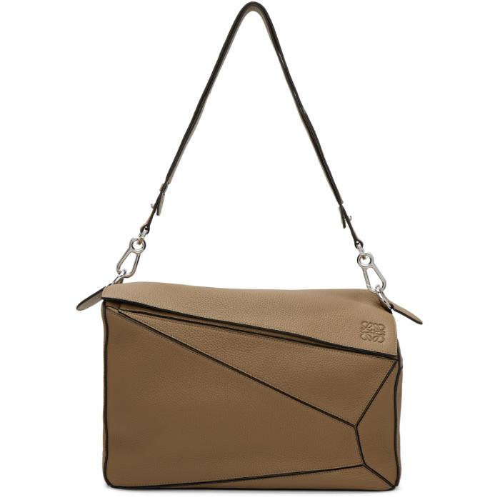 Loewe Tan XL Puzzle Bag