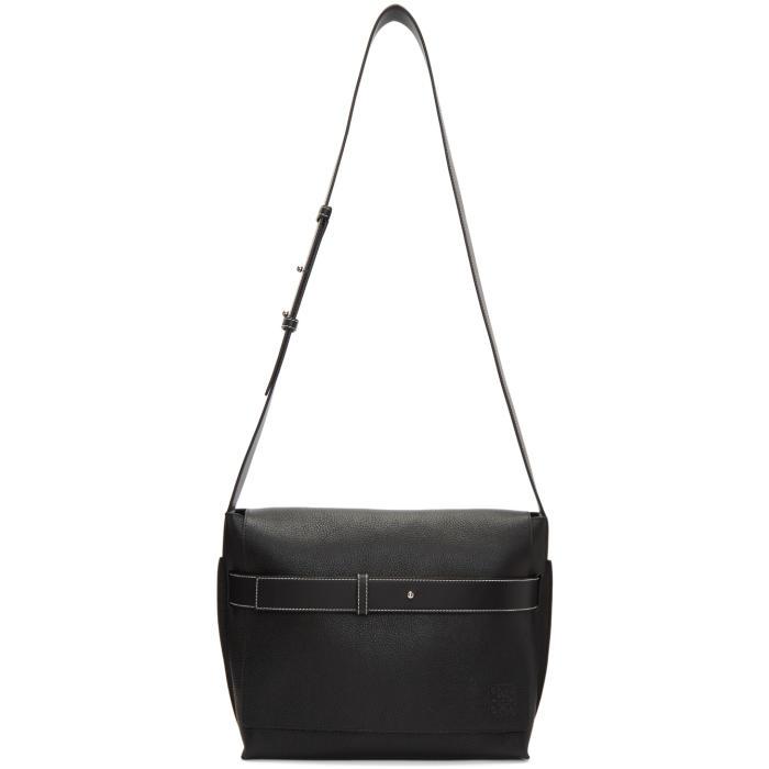 Loewe Black Small Bolso Belt Messenger Bag