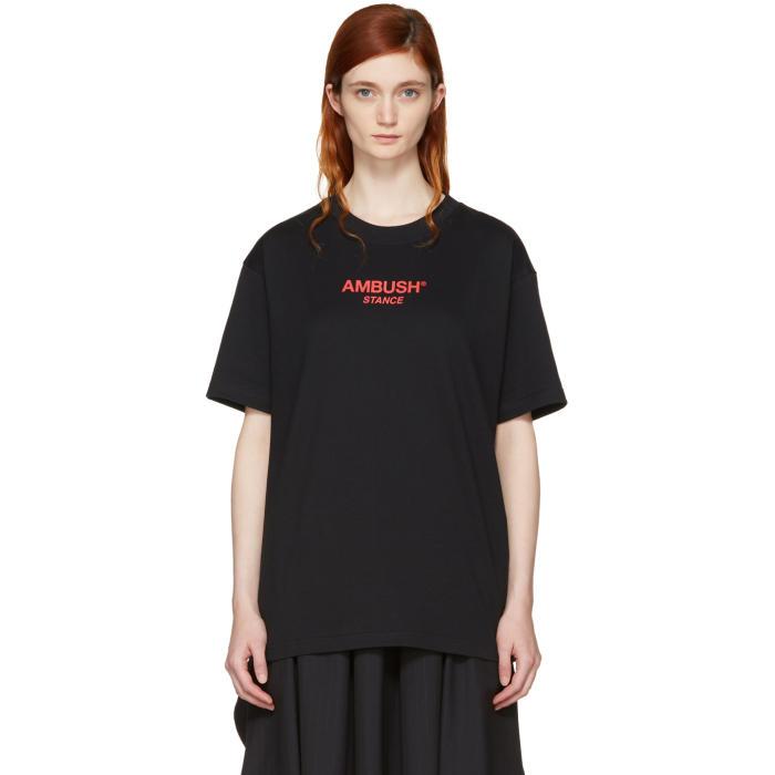 Ambush SSENSE Exclusive Black Logo T-Shirt