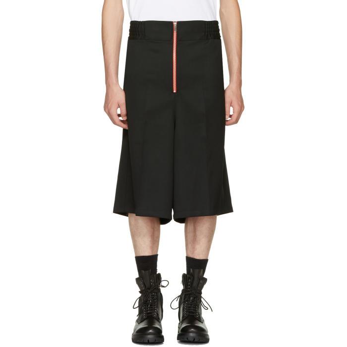 Ambush Black Wool Boxer Shorts