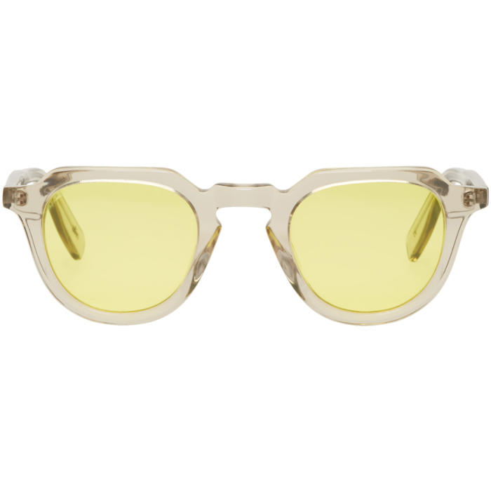 all in Grey and Yellow Voltaire Sunglasses