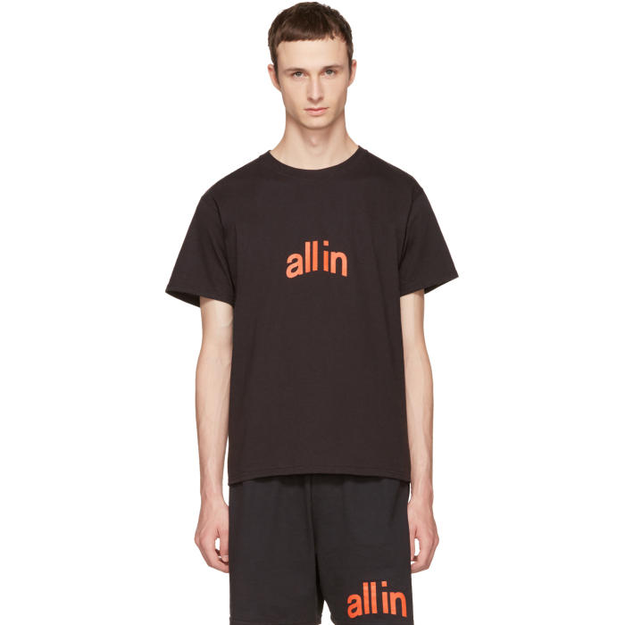 all in Black Champion Edition Logo T-Shirt