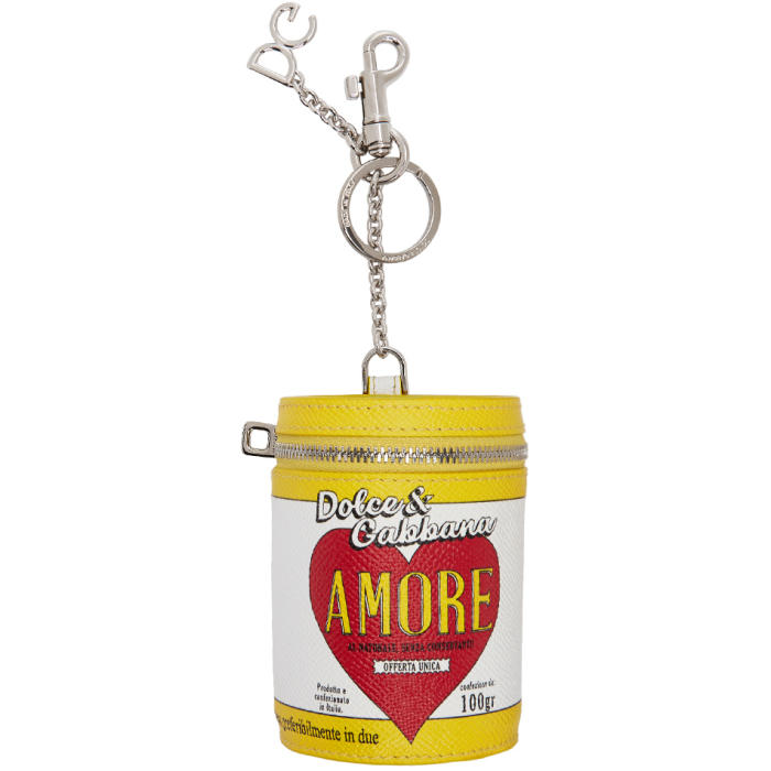 Multicolor 'Amore' Energy Can Keychain