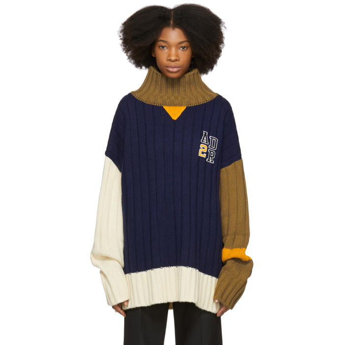 ADER error Navy Color Balance Sweater thumbnail