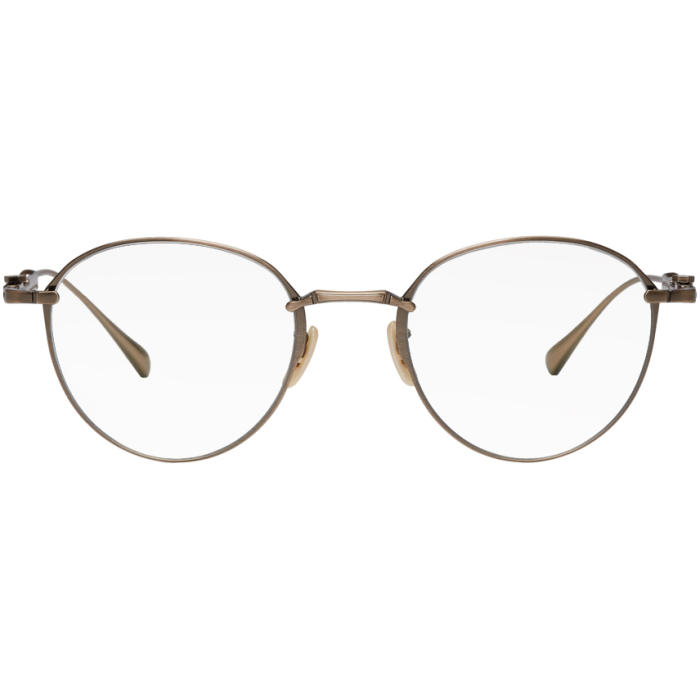 MR. LEIGHT GOLD MULHOLLAND CL 48 GLASSES