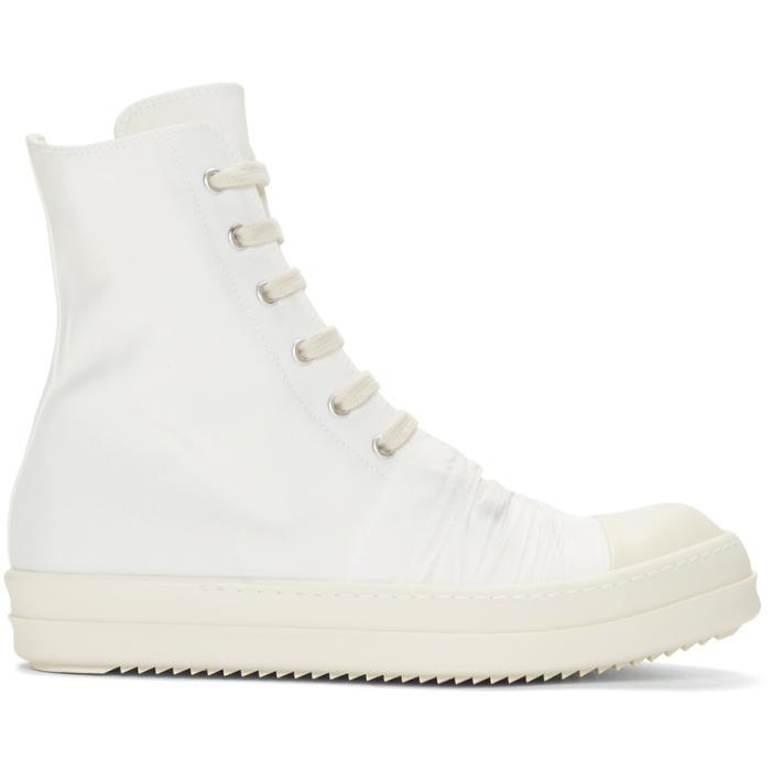 White high sneaker Rick Owens DE2AleCE