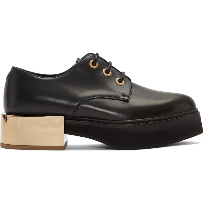Alexander McQueen Black Creeper Derbys thumbnail