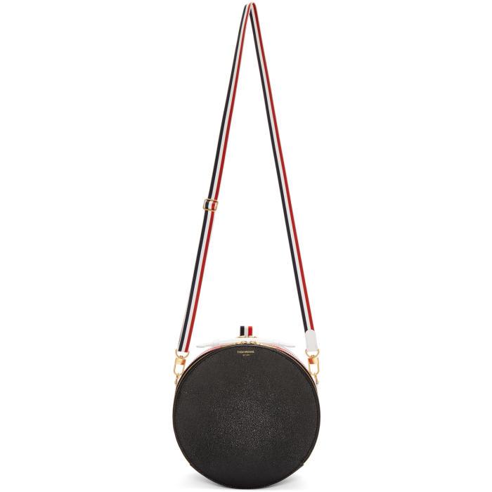 rounded business shoulderbag