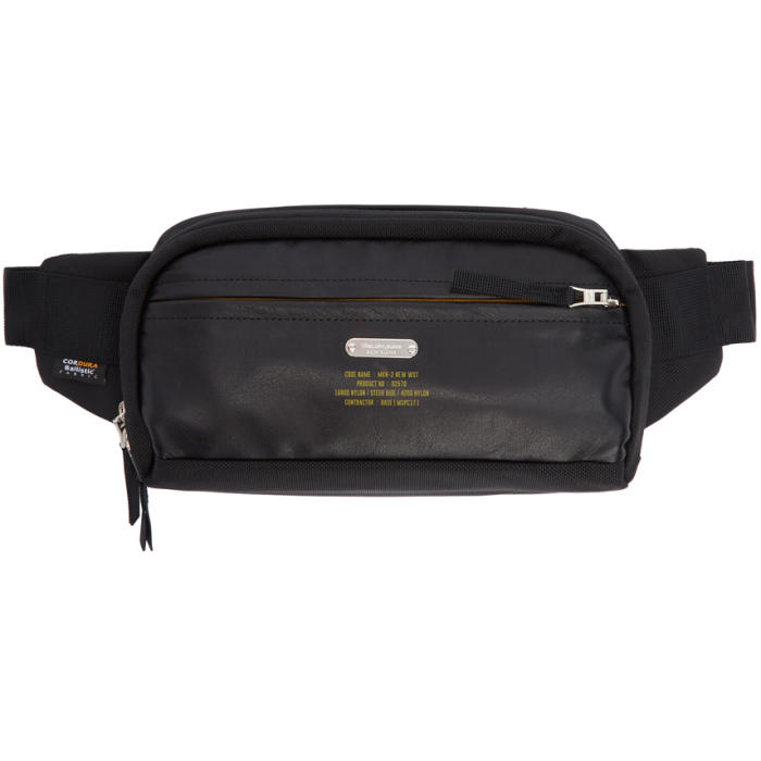MASTER-PIECE CO Master-Piece Co Black Spec Waist Bag