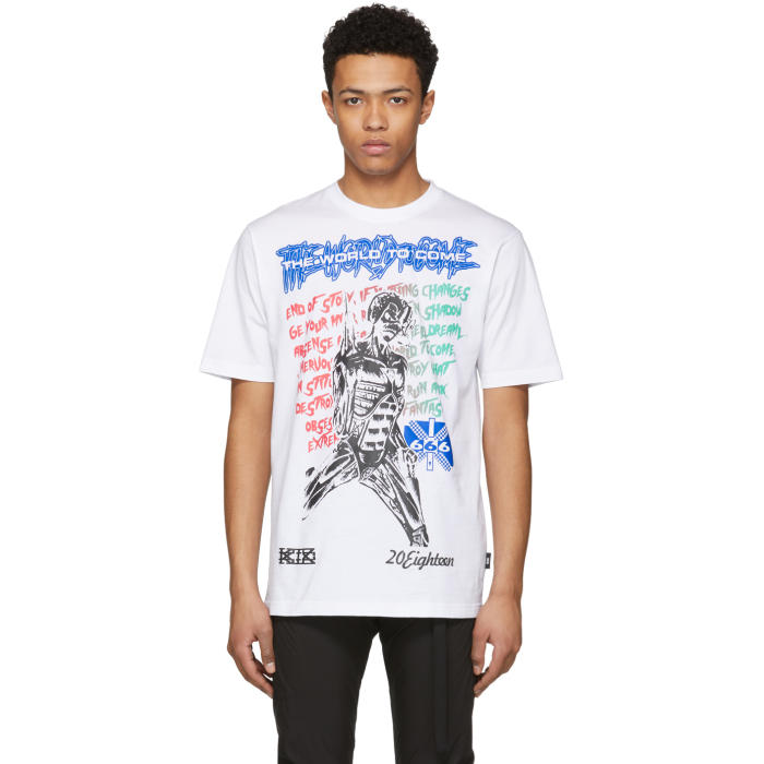 KTZ White Muscle Lady T-Shirt