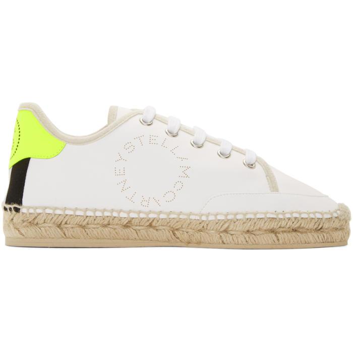 Raffia Sole Sneakers in White