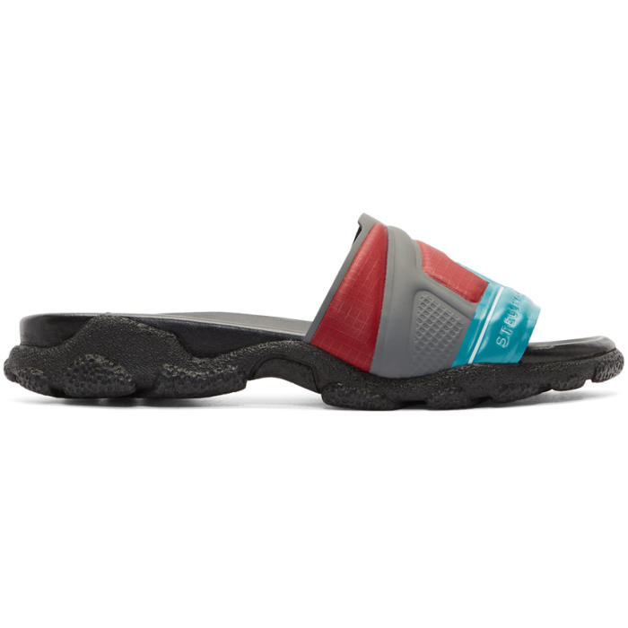 Acne Studios Multicolor High Frequency Slides