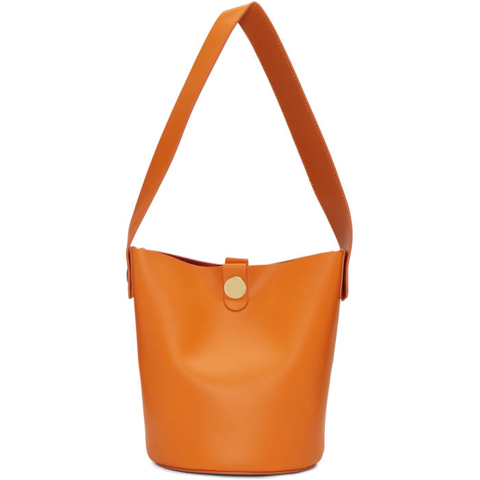 Sophie Hulme ORANGE SMALL SWING BAG