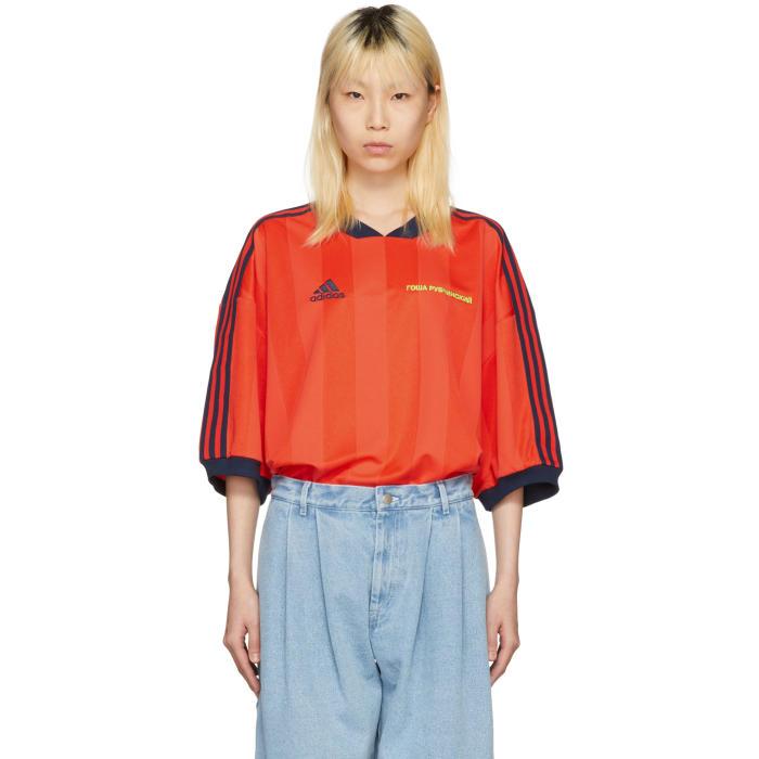 Red Adidas Originals Edition Polo
