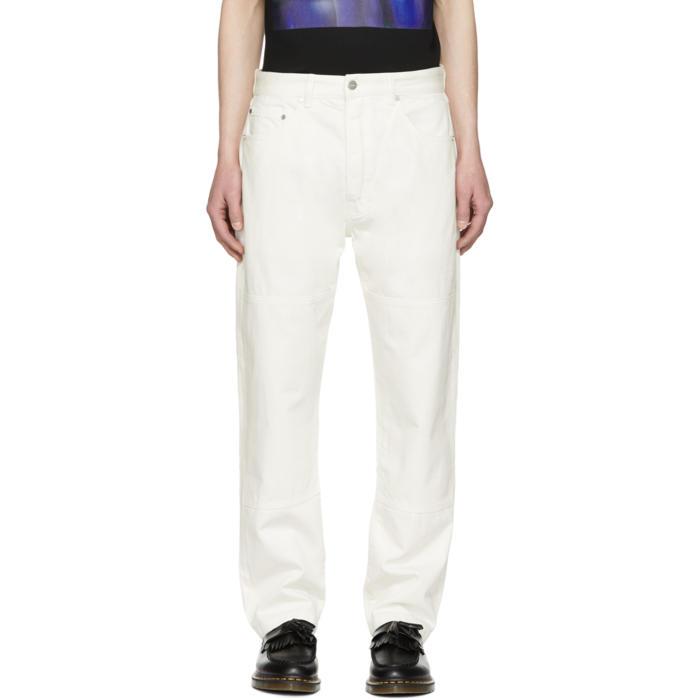 Corner straight-leg jeans - White Études Studio rZxahxaPy