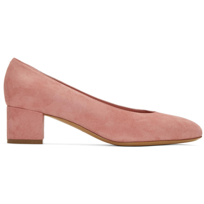 Reliable Cheap Online Visit For Sale Mansur Gavriel Suede Ballerina Heels Low Shipping Fee Cheap Online jeQEL41
