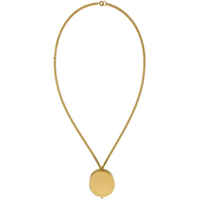 VETEMENTS Monogram Grinder Necklace K4TOk