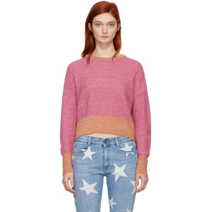 Simon Miller Pink Yates Crewneck Sweater in 81741 Helic