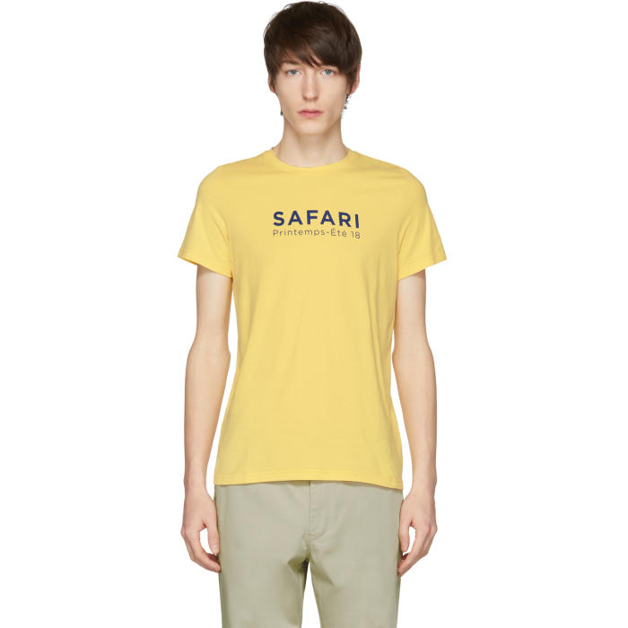 ÉDITIONS M.R Editions M.R Yellow Safari Mr T-Shirt