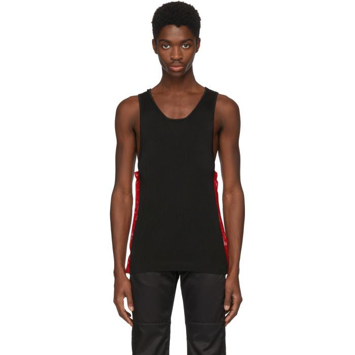 WALES BONNER Wales Bonner Classic Slim-Fit Vest Top - Black