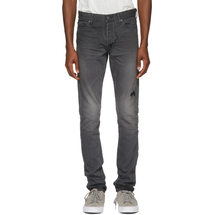 John Elliott Washed Out Jeans - Grey