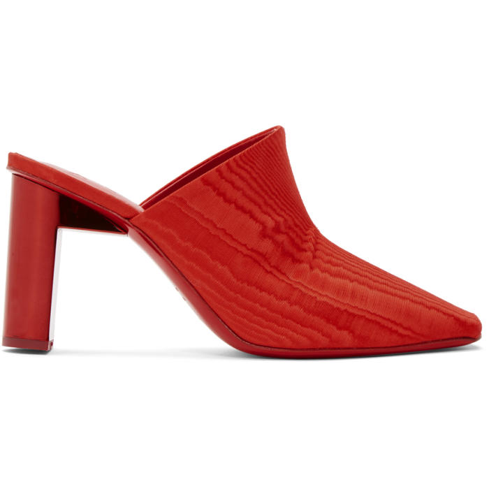 ALYX 1017 Alyx 9Sm Ankle Strap Mules - Red