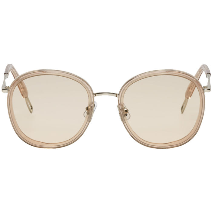 28fa35fea0a Gentle Monster Silver Ollie Sunglasses In S1 Silver