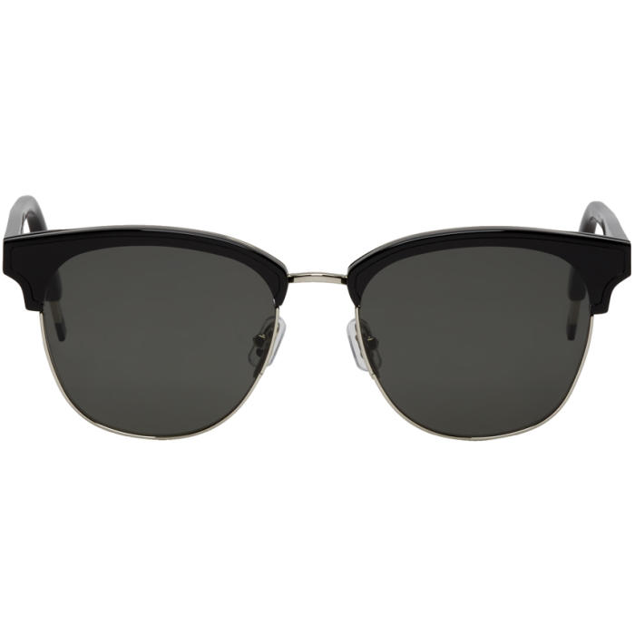 1736581732 GENTLE MONSTER Black   Silver Till Dawn Sunglasses