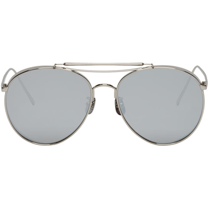 ddd6d05084 Gentle Monster Silver Big Bully Sunglasses