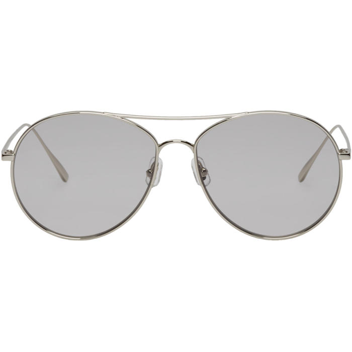 42b599dbb8a8 Gentle Monster Silver Ranny Ring Sunglasses In 02(G) Silvr