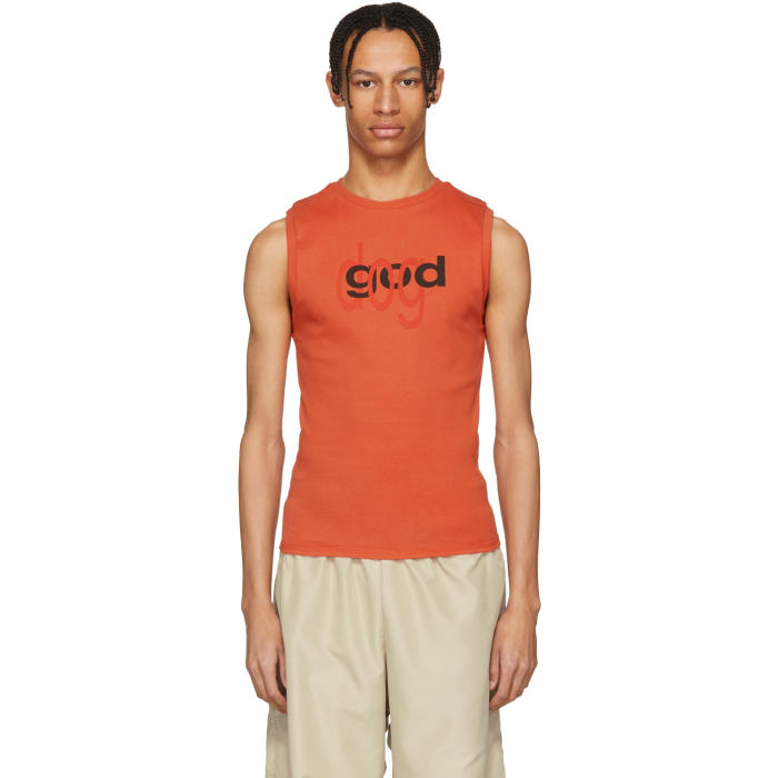 Free Shipping 100% Authentic Outlet Hot Sale Muscle Red Dot Com Tank Top ECKHAUS LATTA Cheap Sale 2018 New Sale Genuine NezhSNb