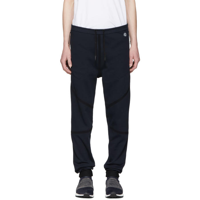 Navy Taped Quick Dry Lounge Pants