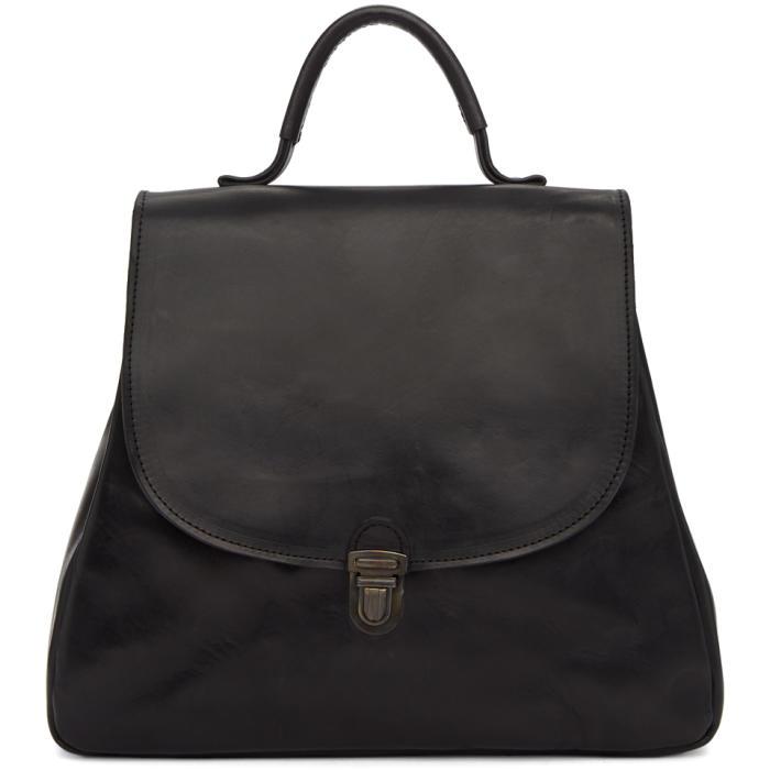 CHEREVICHKIOTVICHKI BLACK FLAT SMALL LOCK BAG